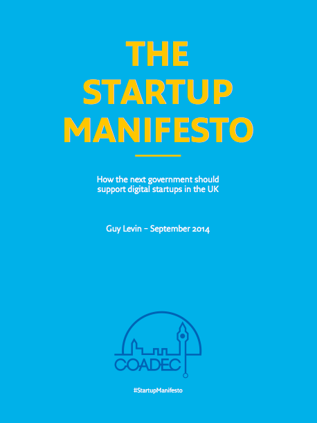 Startup Manifesto backed by over 200 leading startups and investors